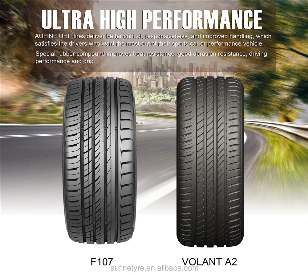 Aufine tire manufacturer UHP 225/45ZR17 new cheap china tires factory