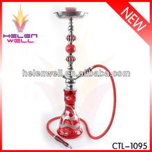 2016 glass shisha smoking hookah all in glass new style and healthy
