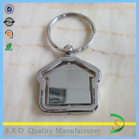 fancy gift for guest rotate house key ring rotate keychain