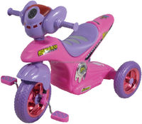 pink motor tricycle modeling child tricycle 17719A