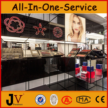 Luxury perfume display stands/make up display stand /cosmetic display furniture