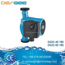 DEGEE PUMP high performance circulation pump DG25-60 180 domestic circulator pump discount sample