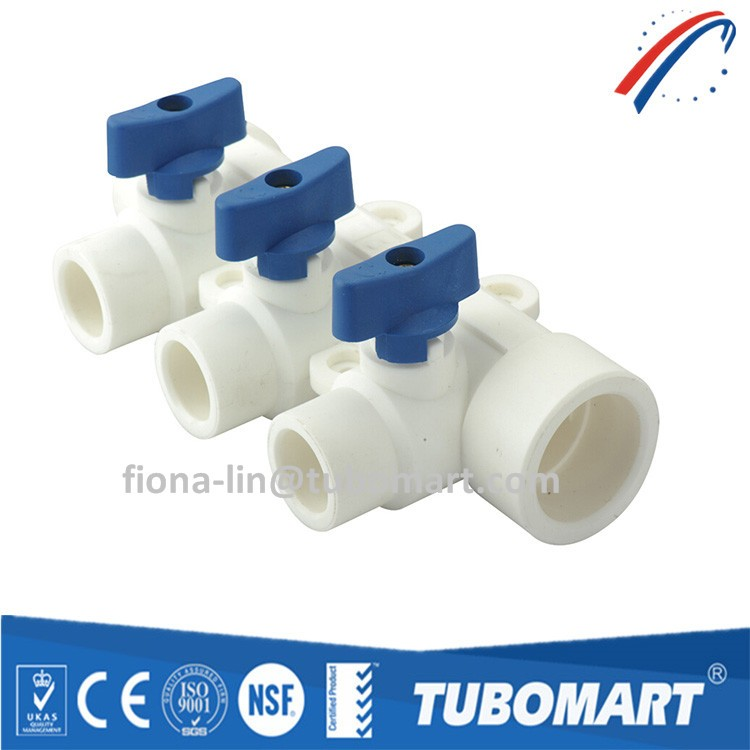 ppr manifold and ppr pipe and ppr pipe fittings for hot water system
