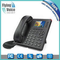2016 latest color screen wireless sip phone for call government enterprise FIP11W