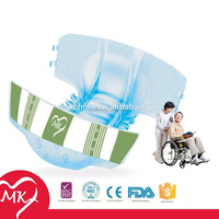 Free Adult Diaper Sample, High Absorbency Disposable Cheap Adult Diaper for Elderly, Ultra Thick Adult Diaper for Old People (S)