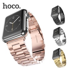 Original Hoco Metal Wristband For iWatch 2 Band 42mm Stainless Steel Replacement Strap For Apple Watch Wristband