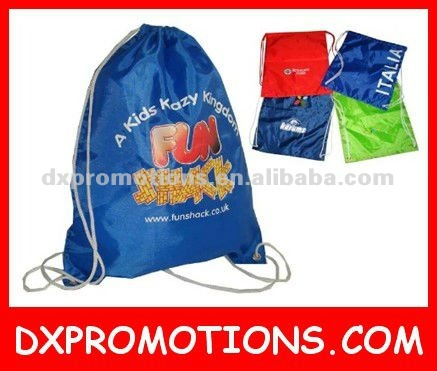 cheap promotional nylon bag/promotional backpack