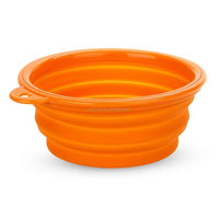 Eco-friendly Waterproof Collapsible Silicone Pet Dog Bowl