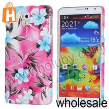 Colorful Camellia Flower Pattern Protective Hard PC Case for Samsung Galaxy Note 3 N9000 N9002 N9005