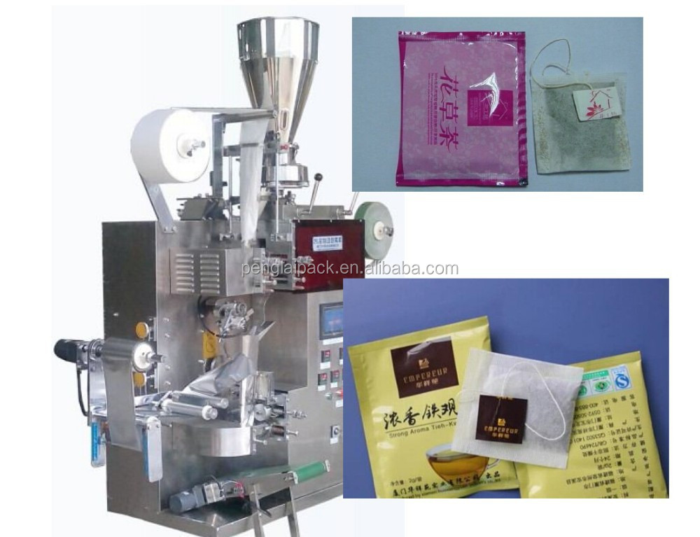 Price Tea Packing Machine With Thread And Tag