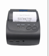Most portable 58mm Blue tooth Thermal Printer with cheap price