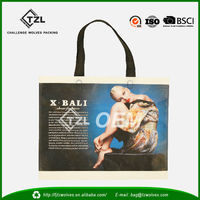 PP non woven wholesale decorative reusable shopping bag, shopper bags