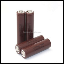 100% authentic LG Chem ICR18650 HG2 3000mAh 20a 18650 battery 3.7v li-ion 3000mah rechargeable battery lg icr18650hg2 3000mah