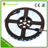 High lumen RGB LED Strip Light SMD 5050 60LED/M Flashlight