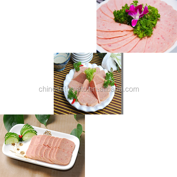 china wholesale good brand can luncheon meat halal beef supplier