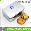 top selling food grade metal cookie tin box cookie sets gift tin box