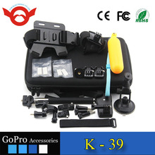 2016 Newest Gopros accessories bundle Hot salefactory provide Gopros Accessories set for Go pro camera