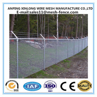 Dark Green Electric Galvanized High Strong Quality cheap chain link fencing
