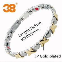 Accessories for women jewelry titanium anti fatigue bracelet neodymium magnet