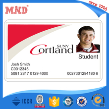 MDP645 Customized Printing rfid PVC ID Cards/ Plastic Sample Employee rfid ID Cards
