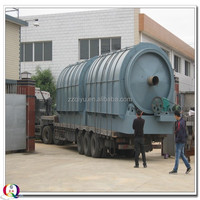 Waste Plastic Pyrolysis to furnace fuel with 5 tons capacity