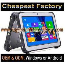 Cheapest Factory 10 inch Intel Bay-Trail Z3735F Processor Rugged Windows Tablet With Replaceable Battery