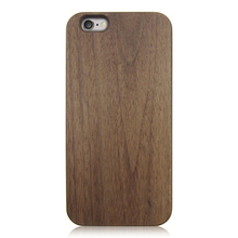 Mobile phone shell high quality wooden case protective case for iPhone 6