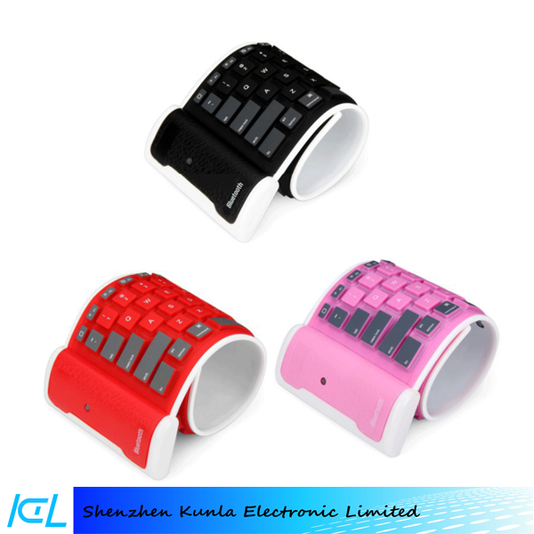 2016 factory price soft silicone Bluetooth general use Keyboard for Ipad mini/air/pro, Xiaomi Pad, Vivo x6 plus