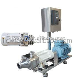 Sanitary professional manufacture twin screw pump for cosmetic