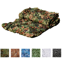 W150D3*5 High Quality Hunting Woodland Camouflage Nets
