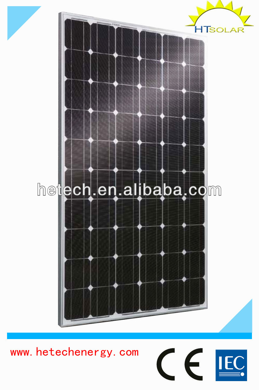 Monocrystalline 265w competitive price photovoltaic panel solar roof panel