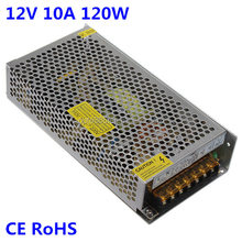 100v 110v 120v 220v 230v 240v mains ac to dc 12v 10a 120w led switching power supply