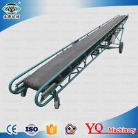 Large high inclination angle manure belt conveyor