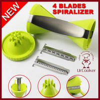 4 BLADES SPIRALIZER vegetable spiralizer manual vegetable slicer