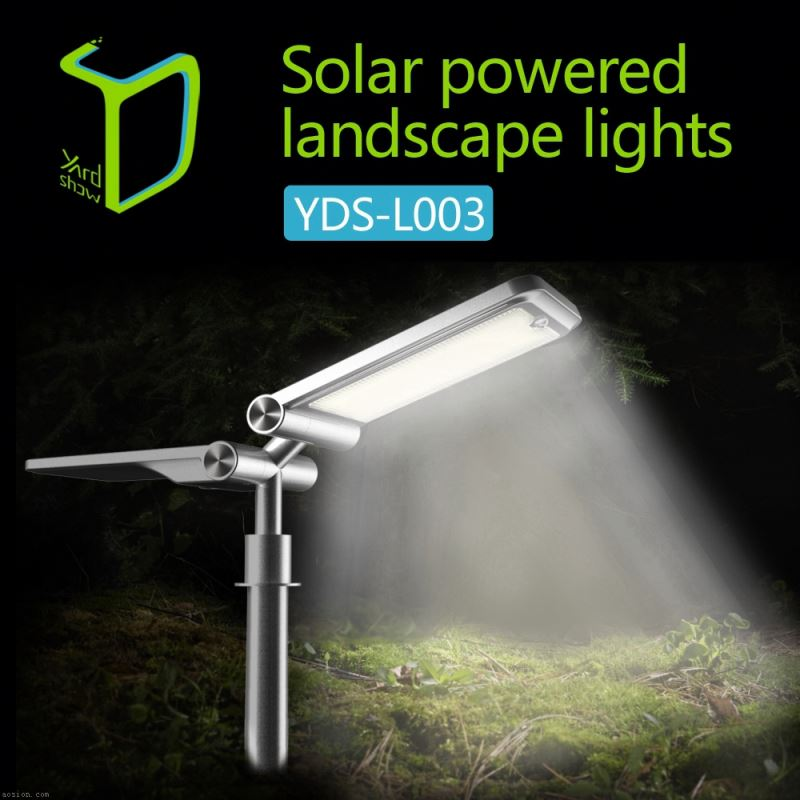 Yardshow Super Power Waterproof motion activated solar power outside led spotlights