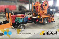 sand making of mini jaw crusher for lab JBS brand