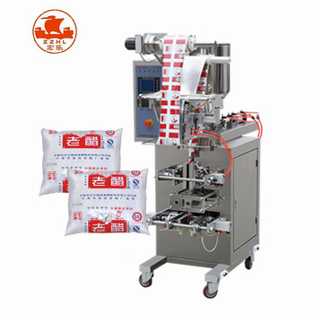 hot sale automatic small business shampoo pouch ketchup sachet packing machine