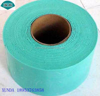 Viscoelastic body adhesive tape for pipe corrosion protection