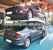 Supply vertical residential garage hydraulic tilting two post car parking lift