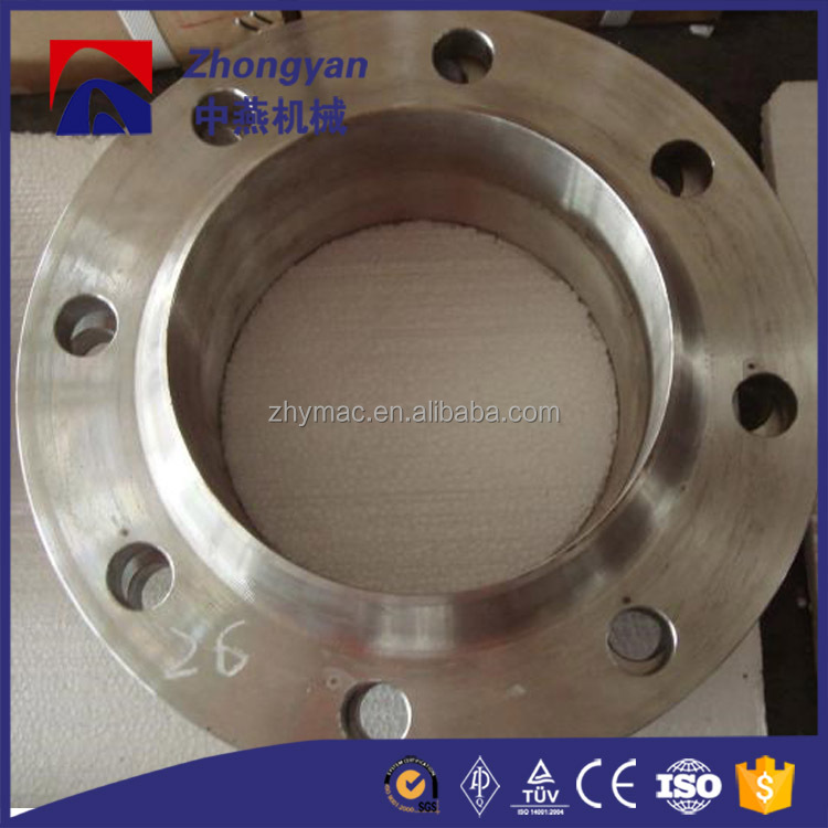 carbon steel butt welding fitting flange long neck ms flange asme b16.5