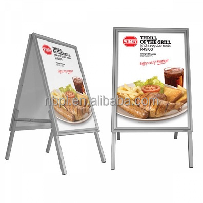 A1 pavement sign outdoor sandwich board sign