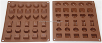 Custom Shape Silicone Chocolate Mold Bakeware Cake Tools Cake Decoration