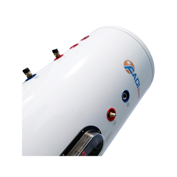 Stainless steel split pressurized solar water heater tank