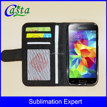 New Personalized Blank Sublimation Microfiber And TPU Wallet Phone Cases for Samsung Galaxy S5 Mini G870A G870W SM-G