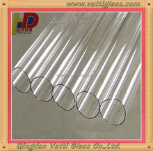 High Temperature Round Heat Resistant Quartz Glass Tubes