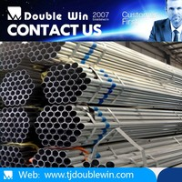 Galvanized Steel Pipe / GI Pipe Black Steel Pipe / Welded Pipe for greenhouse construction