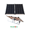 hot sell 140W easy taking /High efficiency the solar system folding solar panel