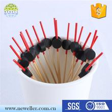 heart shaped royal kinds of party cocktail sticks for party decoration