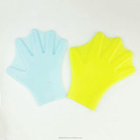 Personalized Silicone swim hand fins hand gloves