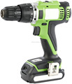 Wintools 18V Lithium Ion Cordless Drill Driver, Variable Speed, and Powerful Screwdriver